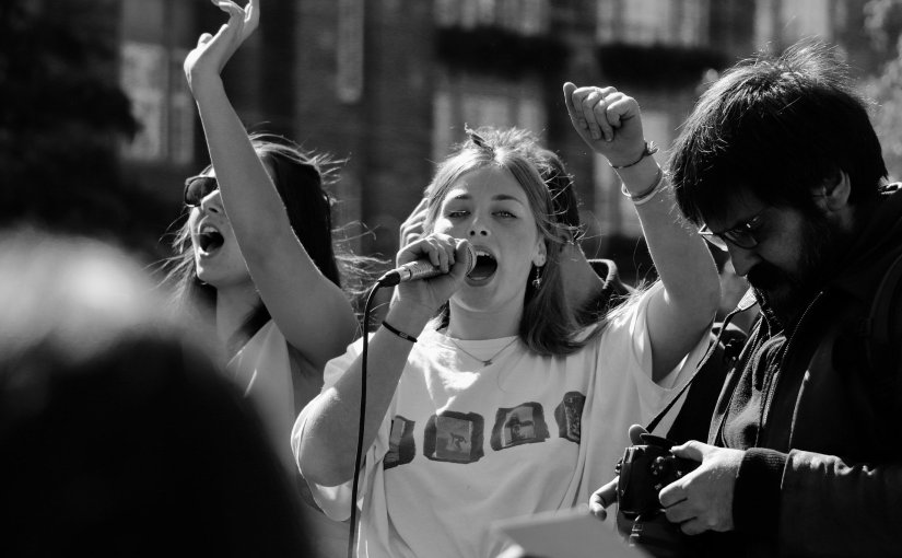 « Pour la liberté » : quand la « culture de la manif » se transmet de générations engénérations